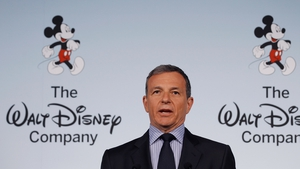 Disney CEO Bob Iger said the company had struck a deal to create a new trilogy in the blockbuster 'Star Wars' series