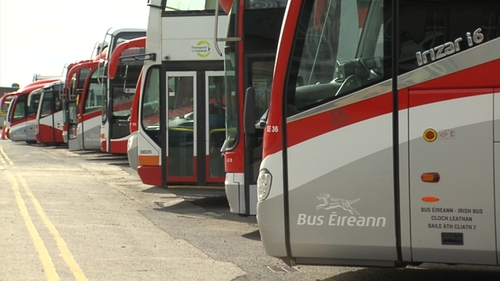 Bus Eireann was hit by industrial action earlier this year