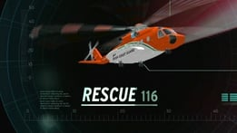 What caused the crash of Rescue 116?