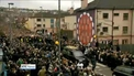 Thousands of people lined the streets of Derry for funeral of Martin McGuinness