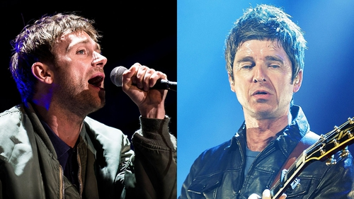 Damon Albarn and Noel Gallagher have joined forces for a new song