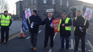 While Iarnród Éireann is not a party to the dispute, disruption has arisen from picketing associate with the dispute