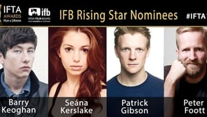 Barry Keoghan, Seána Kerslake, Patrick Gibson and Peter Foott will compete for this year's IFTA Rising Star award