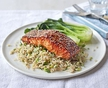 Neven's recepies - Soy and honey salmon parcels with tenderstem broccoli