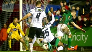 Cork City and Dundalk do battle at Turner's Cross