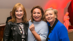 Lucy Gaffney, Communicorp Chairperson, with Norah Casey and Tánaiste Francis Fitzgerald.