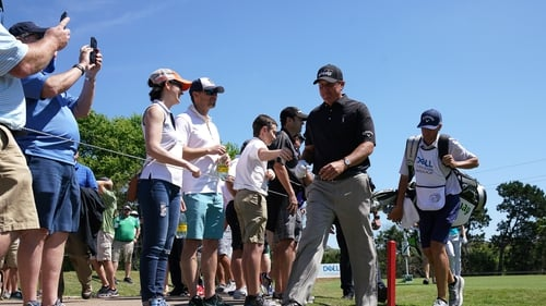 Phil Mickelson had another easy win in Texas