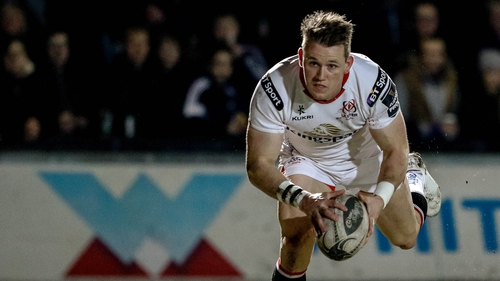 Craig Gilroy has not played for Ulster since suffering a back injury in pre-season