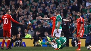 Seamus Coleman suffered a double leg-break