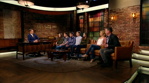 The Late Late Show: Quintuplets