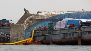 Sewol ferry will be brought to port in salvage operation