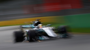Hamilton took pole position ahead of Vettel