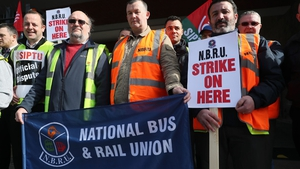 1,900 workers at Bus Éireann were involved in industrial action over cost-cutting measures