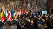 EU leaders gather to mark the 60th anniversary of signing the Treaty of Rome