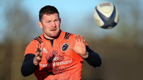 Ryan has made 160 appearances since making his Munster debut 13 years ago