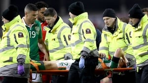Coleman suffered the horrific injury in the 70th minute of the World Cup qualifier against Wales