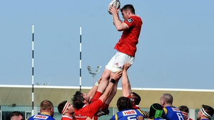 Peter O'Mahony starts at number 6 for Munster