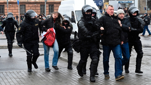 The crackdown was the culmination of the authorities hardening their position on the protests