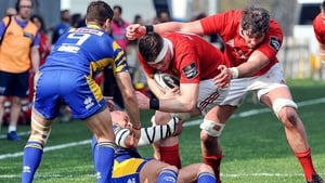 Munster scored seven tries in Italy