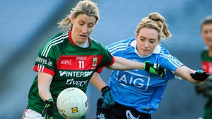 Cora Staunton (L) will line out for her seventh All-Ireland final at Croke Park on Sunday