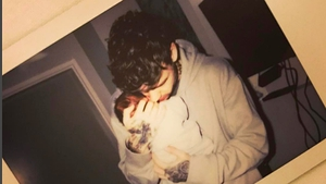 Liam Payne with son Bear. Pic: Instagram