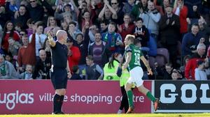 Cork won 2-1