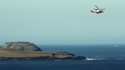 Irish Coast Guard helicopter continues is search mission