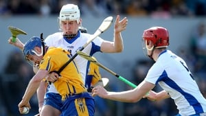 Clare's Podge Collins in action against Waterford