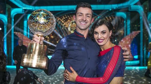 They are the Champions - Aidan O'Mahony and his dance partner Valeria Milova