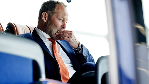 Danny Blind after his side's defeat to Bulgaria