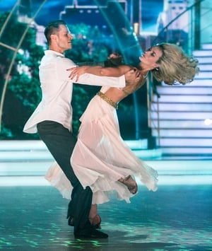 Week 12: Aoibhín looked absolutely beautiful in this ethereal gown for her performance with Vitali.