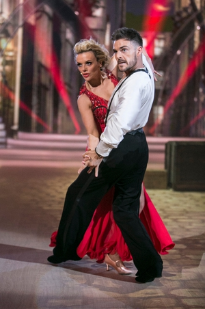 Week 12: Denise and Ryan floored the judges with their tango last night. Denise is the ultimate lady in red!