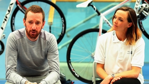 Bradley Wiggins and Victoria Pendleton