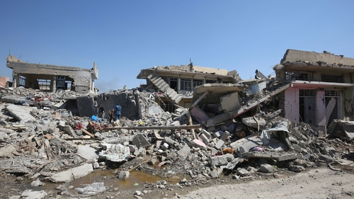 The UN says 400,000 people still reside in Mosul's Old City