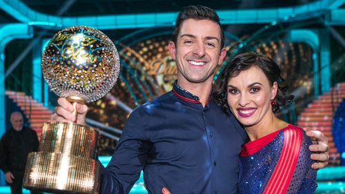 Last night on Dancing with the Stars, Aidan O'Mahony took home the disco-ball trophy after twelve weeks of intense training.