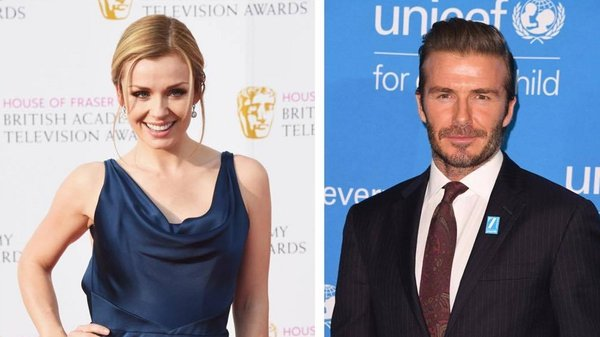 Katherine Jenkins has wished the Beckhams all the best after email scandal