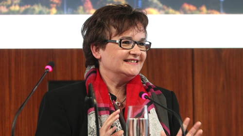 Sabine Lautenschlaeger will step down from the ECB on October 31