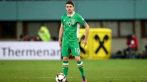 Robbie Brady will earn his 32nd cap against Iceland at the Aviva Stadium
