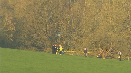 The plane crashed around 5km from Dungarvan