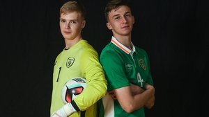 Caoimhin Kelleher and Conor Masterson will hope to help Ireland to the UEFA U19 European Championships finals