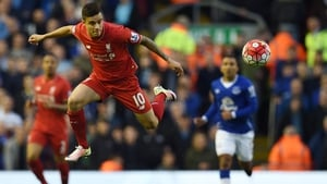 Philippe Coutinho in action against Everton last season
