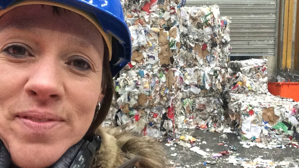 Evelyn O'Rourke at the Panda's Ballymount Plant, Dublin