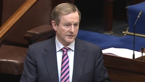 Enda Kenny will remain in his role as Taoiseach until a successor is elected on 2 June