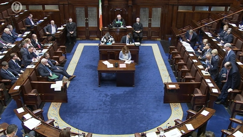 Garda controversies topped the agenda for Leaders' Questions