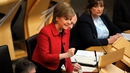 'Scotland, like the rest of the UK, stands at a crossroads,' Nicola Sturgeon told the Edinburgh assembly