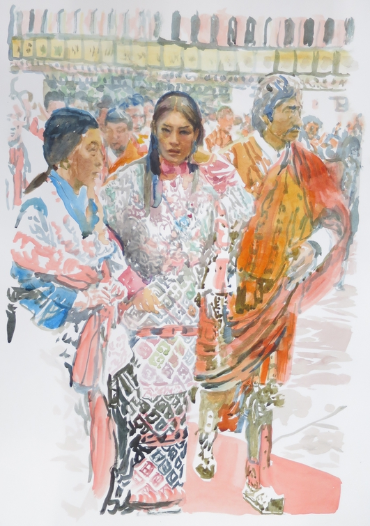 """""""Aspasia-An Influential Immigrant"""", an exhibition by Margaret Corcoran"""