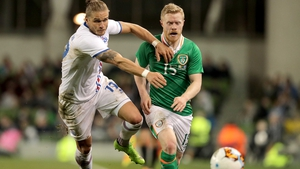 Daryl Horgan was impressive for Ireland after his second-half introduction