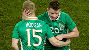 Daryl Horgan impressed on his international debut