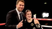 Eddie Hearn and Katie Taylor are looking towards an October title fight in Ireland
