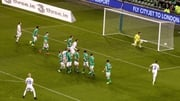 Hordur Bjorgvin Magnusson's free kick was enough to beat Ireland